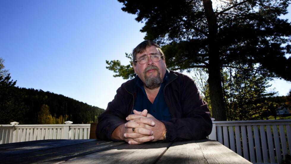BEKYMRET: Knut Moland er drapsmistenkte Tjostolv Molands far. Han sier han begynner å miste troen på at sønnen, som sitter fengslet i Kongo, kommer hjem. Foto: Torbjørn Berg/Dagbladet