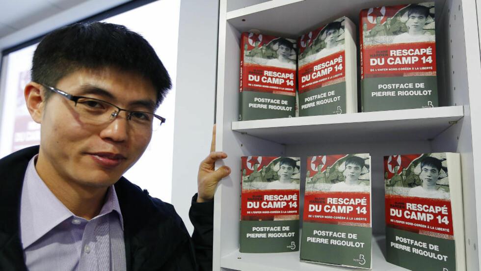 FLYKTET: Shin Dong-hyuk ble født i en av Nord-Koreas beryktede fangeleirer og ble først fri da han rømte som 22-åring. Nå har Shins historie blitt bok. Foto: REUTERS/Jacky Naegelen