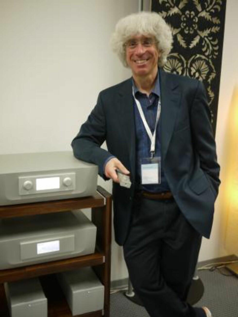 EKSTREM ELEKTRONIKK: Peter Madnick har ledet utviklingsarbeidet på de ekstremt gode og voldsomt dyre komponentene fra Constellation Audio.
