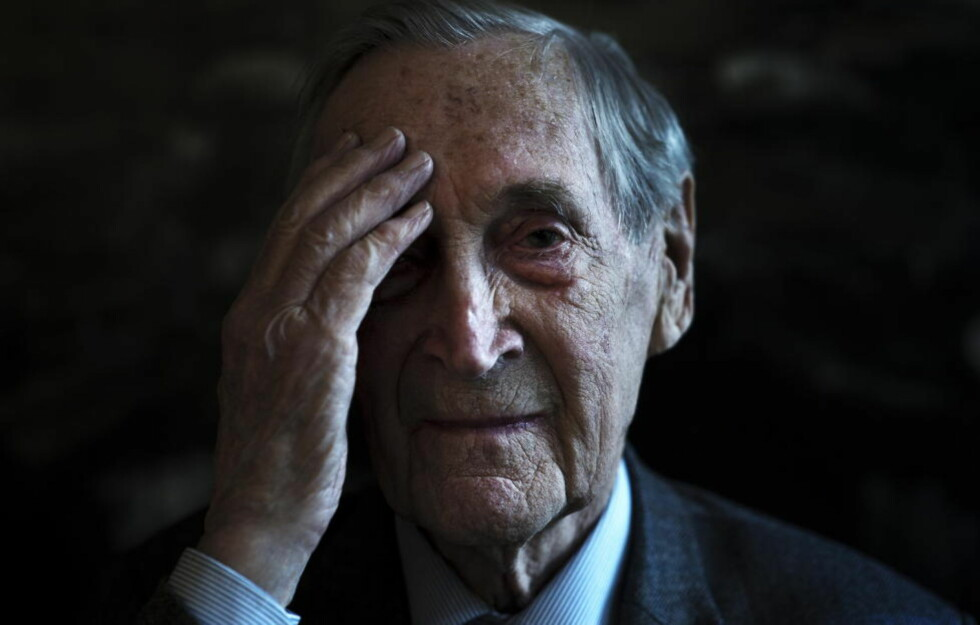 FREDSHELT: Gunnar Sønsteby var sentral i motstandskampen mot tyskerne under andre verdenskrig. Foto: Aleksander Andersen / NTB scanpix