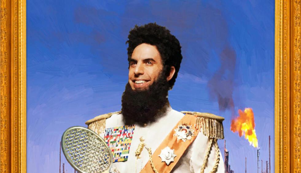 PLUMPE GREIER: Hvis du liker «The Dictator», liker du også Adam Sandler. Egentlig.