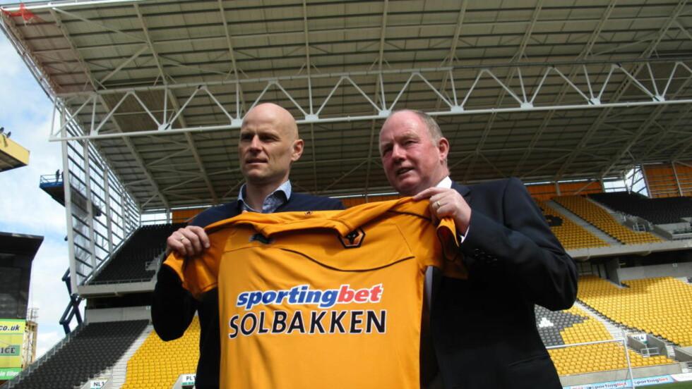 SPENT: Ståle Solbakken møtte pressen i Wolverhampton i dag. Han sier han skal jobbe hardt for å danne seg et inntrykk av klubben og Championship. Foto: Gunnar Ringheim
