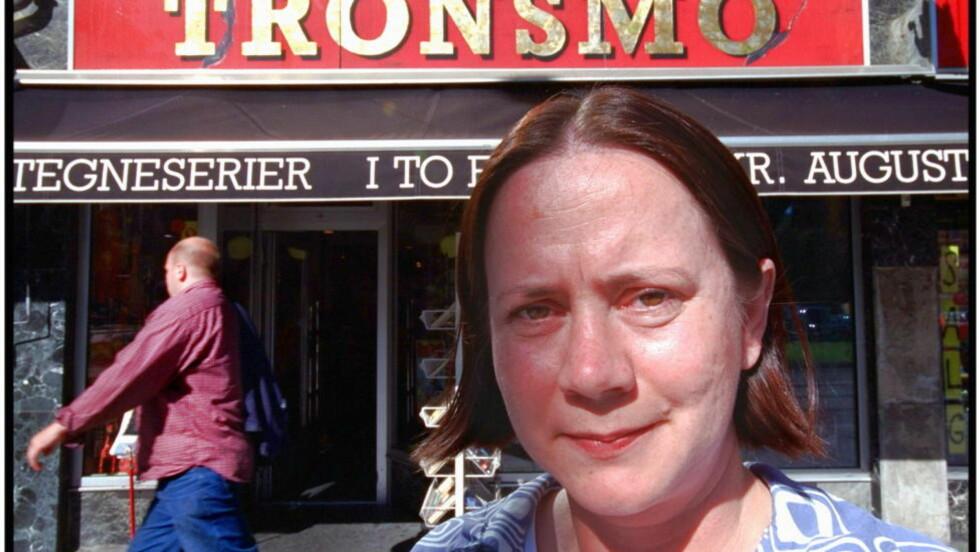 PÅ FLYTTEFOT: Tronsmos daglige leder Eva Stenlund Thorsen har begynt å se etter ledige butikklokaler, etter at Entra har kjøpt Kristian Augustsgate 19.  Foto:Tomm W. Christiansen/Dagbladet