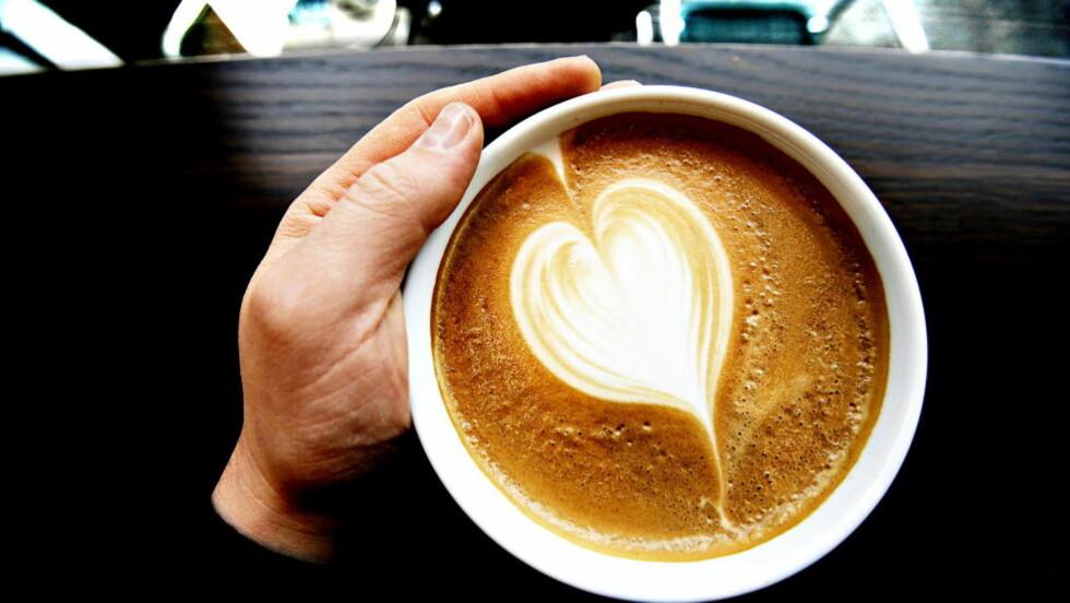 BRA FOR HJERTET: Kaffe ser ut til å redusere dødeligheten for hjertesykdom og en rekke andre alvorlige sykdommer. Men det er trolig filterkaffe som er best for deg.  Foto: Lars Eivind Bones/Dagbladet