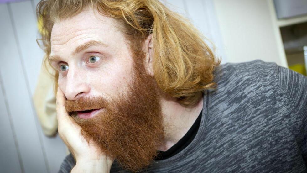 NY ROLLE?: Norske Kristofer Hivju forteller at han er aktuell for en rolle i populære «Game of Thrones». Foto: Ole Morten Melgård