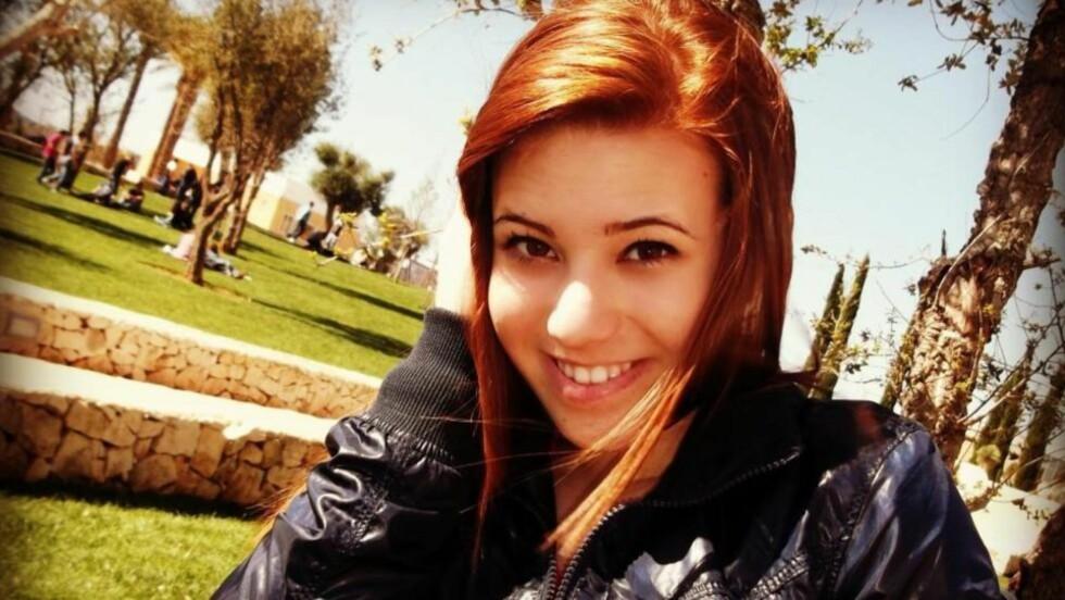 DREPT I MAFIAANGREP: Melissa Bassi (16) ble drept i bombangrepet mot skolen i Sør-Italia i dag. Foto: Privat
