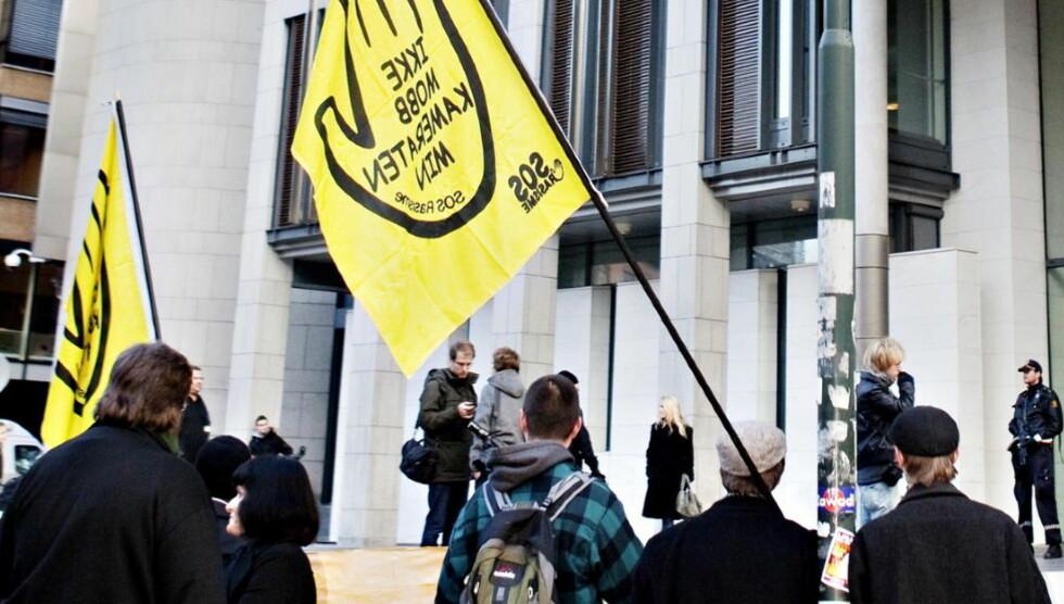SOS RASISME: SOS Rasisme granskes nå av en underetat til Kunnskapsdepartementet, VOX. Foto: Nina Hansen / Dagbladet