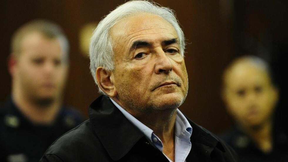 ETTERFORSKES FOR VOLDTEKT: Franske påtalemyndigheter har besluttet å etterforske voldtektsanklager mot Dominique Strauss-Kahn, tidligere sjef for pengefondet IMF. Han er anklaget for å ha deltatt i en gruppevoldtekt i 2010. Foto: EMMANUEL DUNAND / AFP PHOTO / NTB SCANPIX