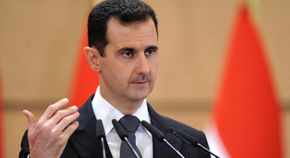 FORBRYTER: Amnesty International mener president Bashar al-Assad og hans regime i Syria kan ha begått forbrytelser mot menneskeheten. Foto: AP