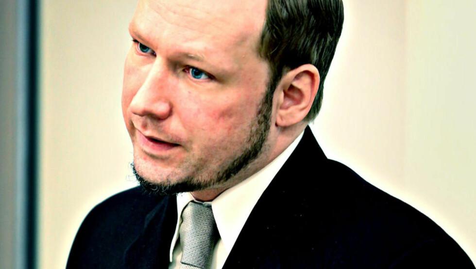 TILREGNELIG?: Anders Behring Breivik i retten under vitneforklaringer 22. mai. Foto: Jacques Hvistendahl