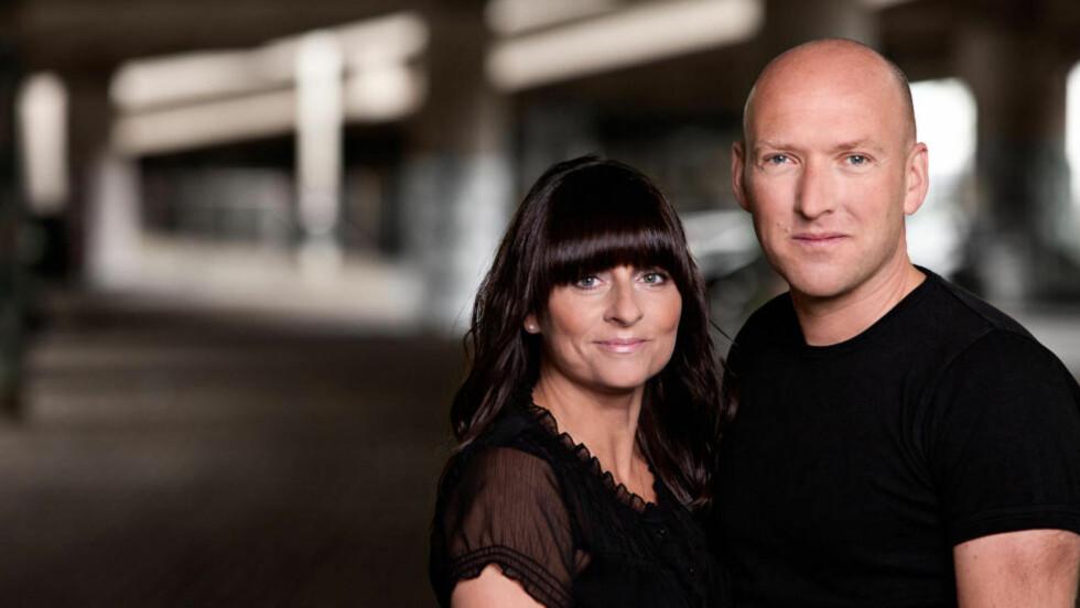 DANSK DUO:  Det danske ekteparet Jeanette Øbro Gerlew og Ole Tornbjerg debuterer med krim om profilereren Katrine Wraa. Foto: MORTEN HOLTUM