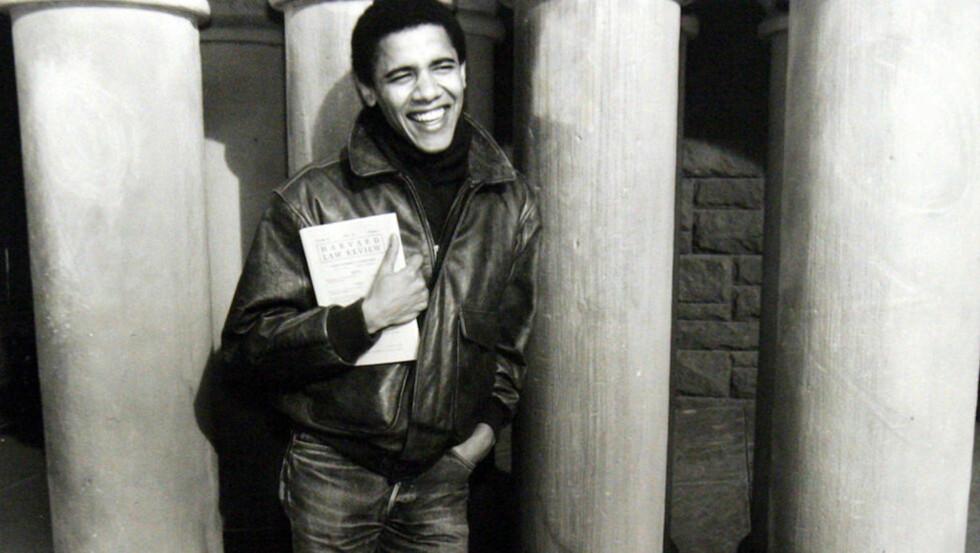NARKO-FORTID: USAs president Barack Obama var en ivrig marijuana-røyker i sine yngre dager. Foto: AP/Scanpix