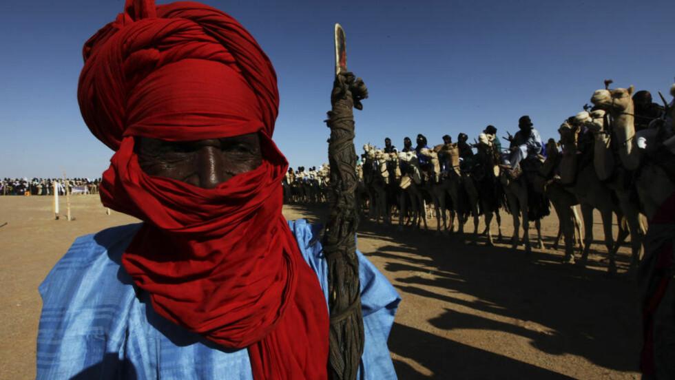 Tuareg-opprørere og den islamistiske opprørsgruppen Ansar Dine har inngått en avtale om å samarbeide om opprettelsen av en islamsk stat i Nord-Mali. REUTERS/Luc Gnago/SCANPIX