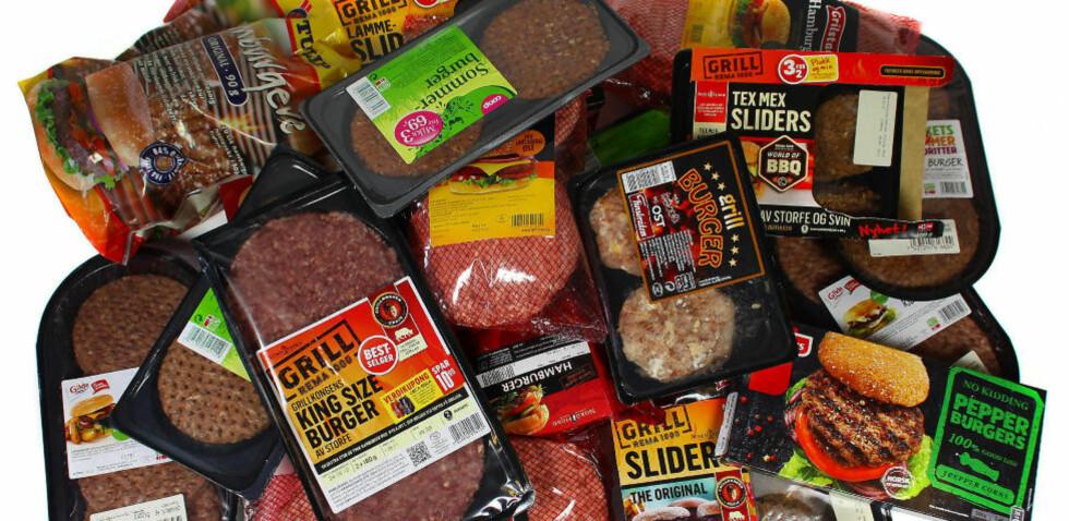 VELG SUNT TILBEHØR: Det mest usunne med et typisk hamburgermåltid er ofte ikke hamburgeren i seg selv. Foto: ERIK HELGENESET