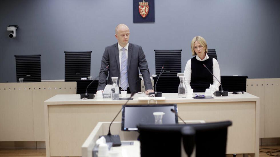 TRAVEL DAG:  Seks vitner fra Kripos, PST og politiet i Oslo skal forklare seg om resultatet av etterforskningen i dag. Foto: Torbjørn Grønning