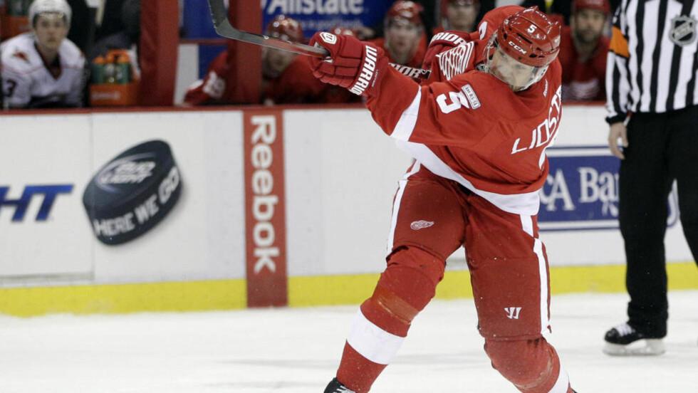 SLUTT? Ifølge Detroit Free Press har 42-årige Nicklas Lidström besluttet å avslutte ishockeykarrieren etter 20 sesonger. Foto: SCANPIX/AP/Carlos Osorio