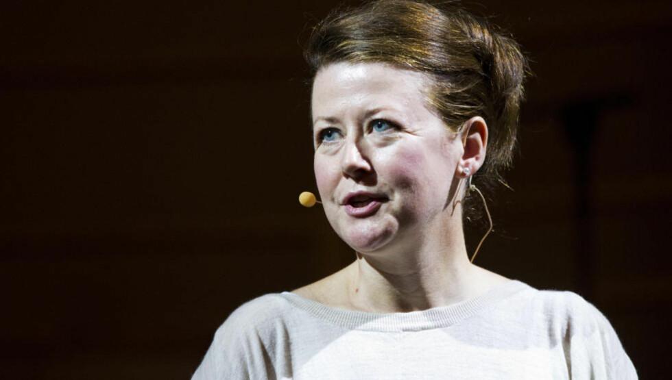 ARROGANT: Hanne Tømta er teatersjef på Nationaltheatret. «Vegringen mot å delta i grunnlovsjubileet viser en form for kulturell arroganse,» skriver artikkelforfatteren. Foto: Thomas Winje Øijord / NTB scanpix