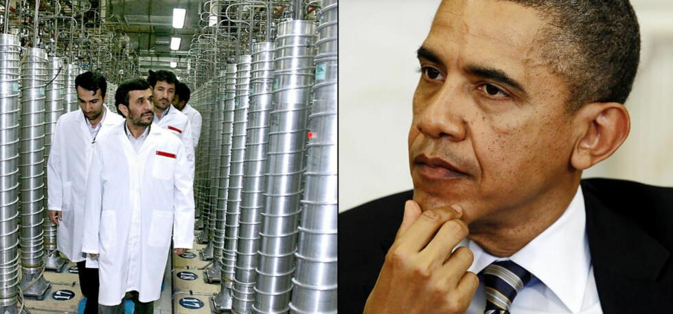 TIL KRIG: New York Times skriver at USAs president Barack Obama er langt mer offensiv enn sin forgjenger når det kommer til cyberkrigføring. Sammen med israelerne kan amerikanerne ha satt det iranske atomprogrammet flere år tilbake ifølge en fersk artikkel i avisa. Foto: ScanpixNTB