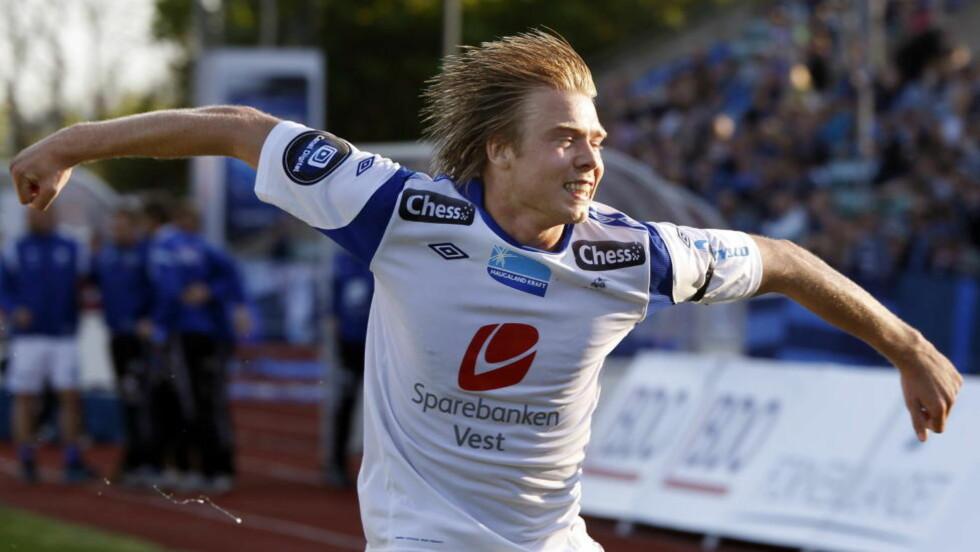 MÅLSCORER: Alexander Søderlund har scoret sju ganger så langt denne Tippeliga-sesongen. Nå er han kalt inn i landslagstroppen.  Foto: Lise Åserud / NTB scanpix