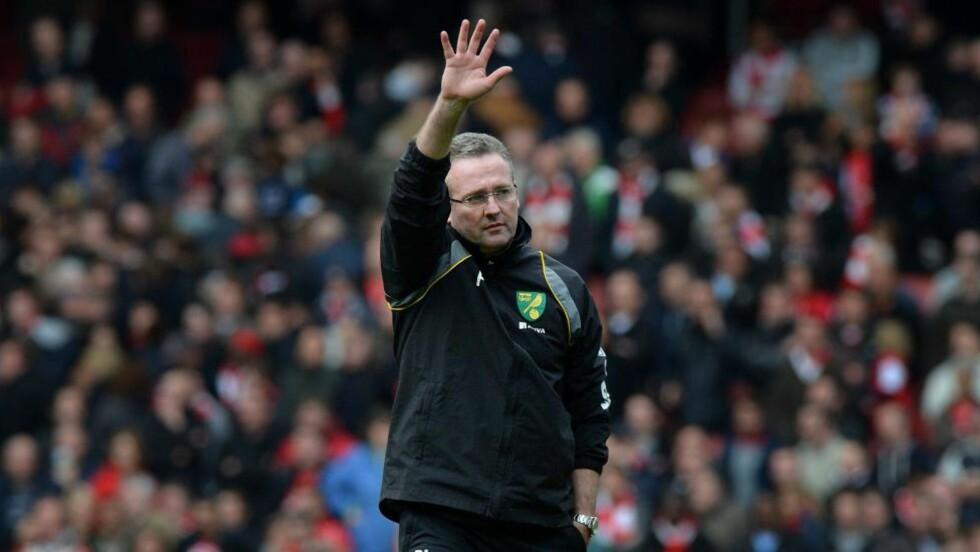 TIL VILLA: Paul Lambert bekreftes som ny manager i Aston Villa. Foto: AFP PHOTO/BEN STANSALL