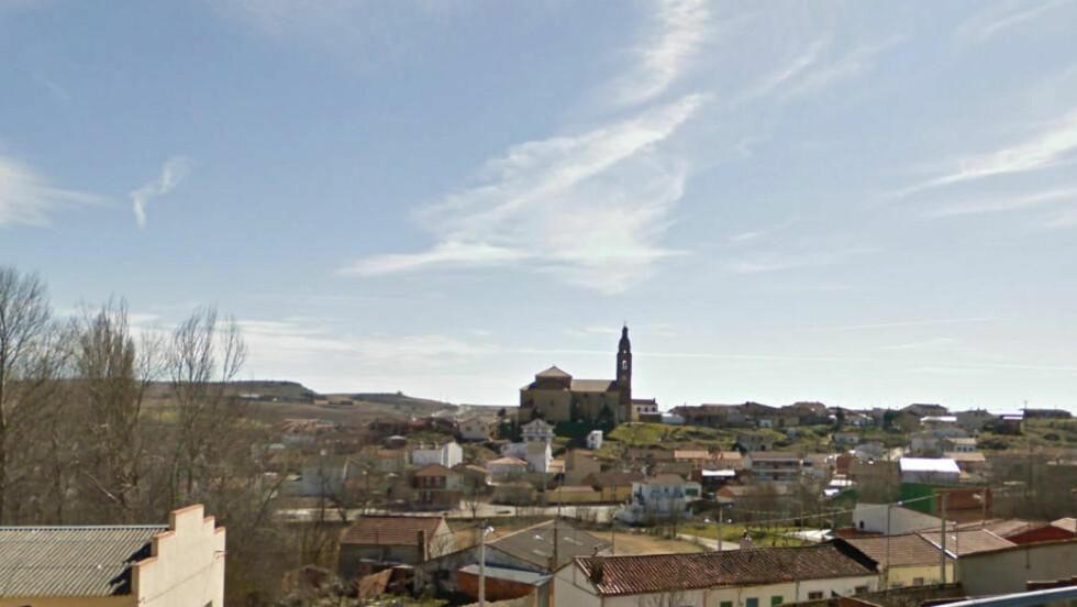 FUNNET DØD ETTER 20 ÅR: Det var i denne spanske landsbyen, Canizal, en mann ble funnet død - 20 år etterpå. Foto: Google Streetview