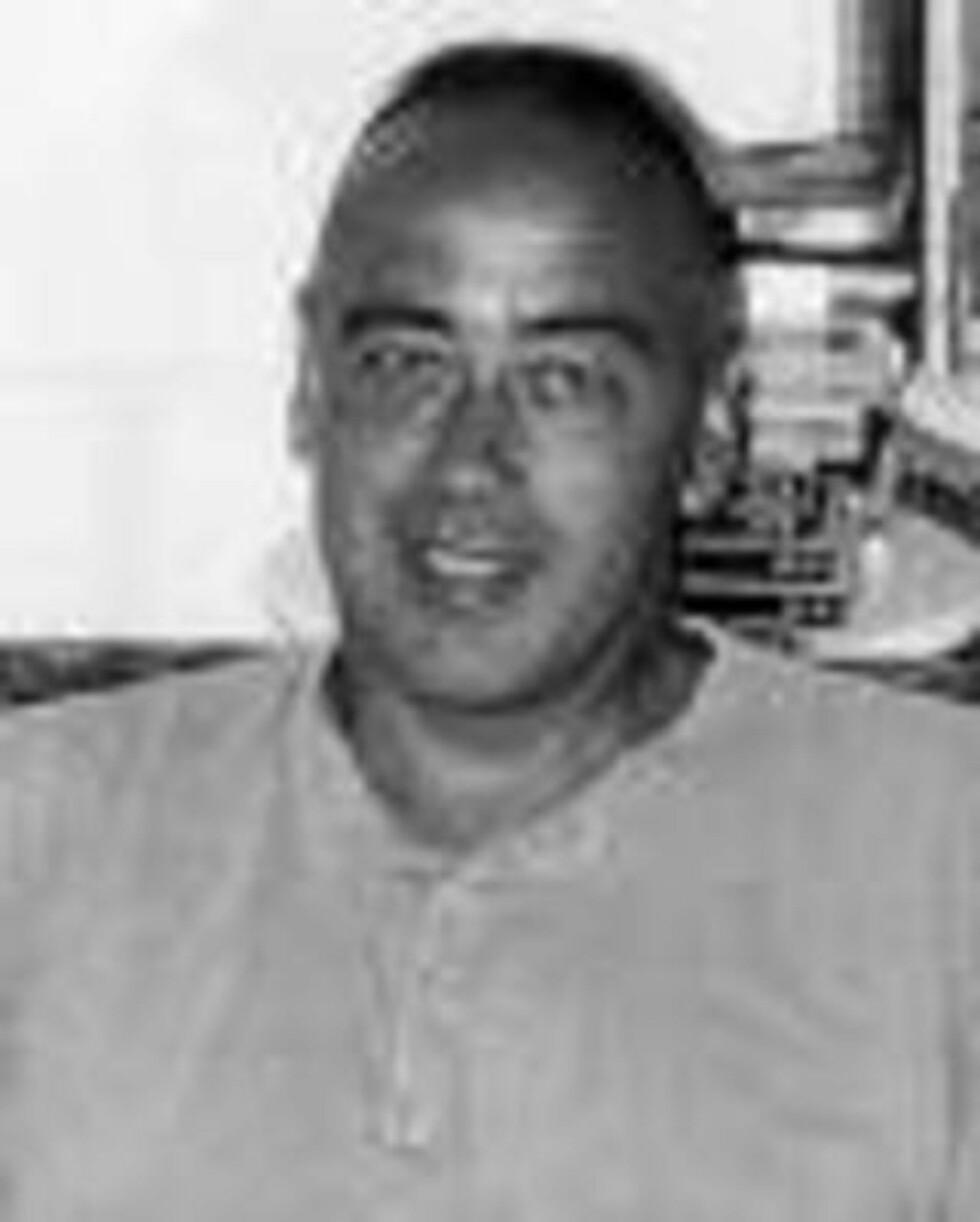 SLIPPER Å VITNE: Den islamkritiske forfatteren Bruce Bawer. Foto: Privat