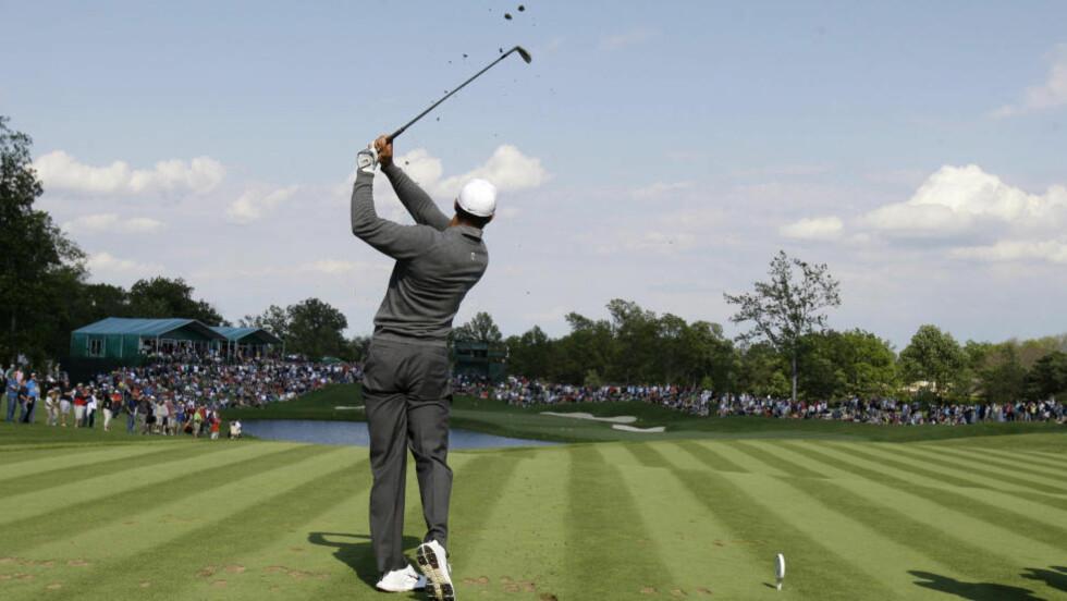 FORTSATT MED: Tiger Woods. Foto: SCANPIX/AP/Tony Dejak