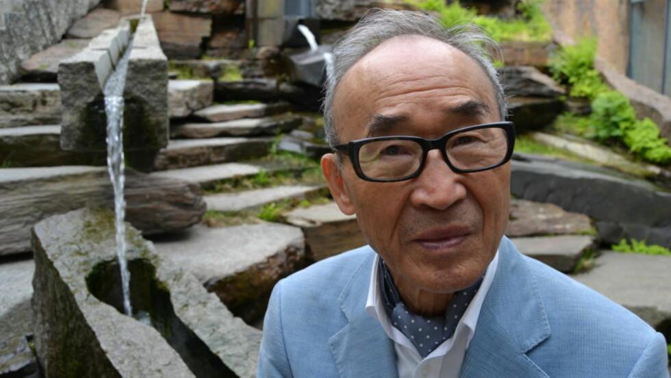 ELEGANT: Den sørkoreanske lyrikeren Ko Un er en av gjengangerne når det blir veddet om hvem som får Nobelprisen. De siste dagene har han tilbragt på Lillehammer. Foto: FREDRIK WANDRUP