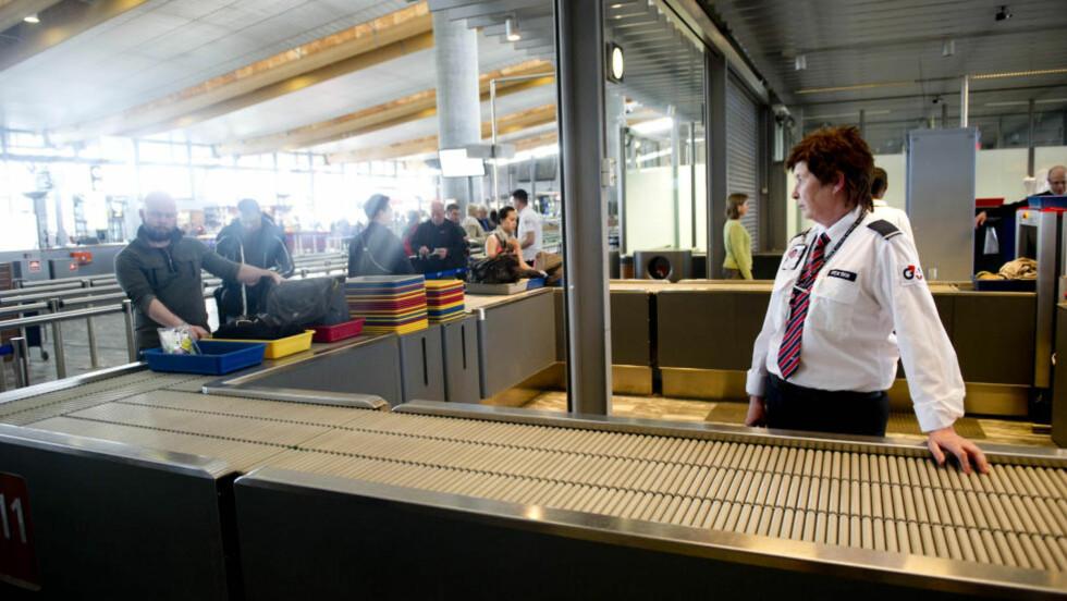 LITE KØ: Det er lite kø på Gardermoen i morgentimene i dag. Bildet er fra fredag. Foto: John T. Pedersen / Dagbladet