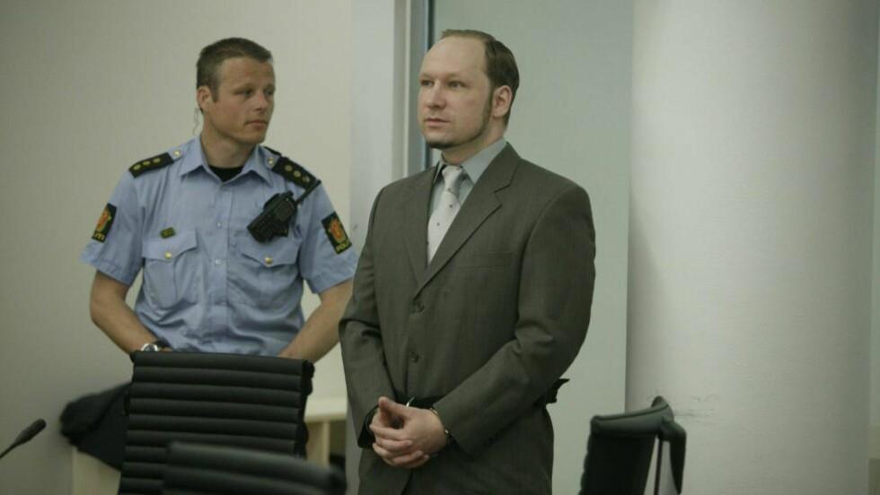 VIL FÅ SIN DOM: Anders Behring Breivik. Foto: Torbjørn Grønning/Dagbladet