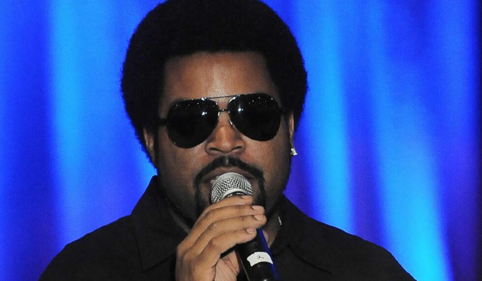 IKKE BARE SKUESPILLER: Ice Cube er nok for musikkintreresserte mest kjent som rapper. Foto: Scanpix