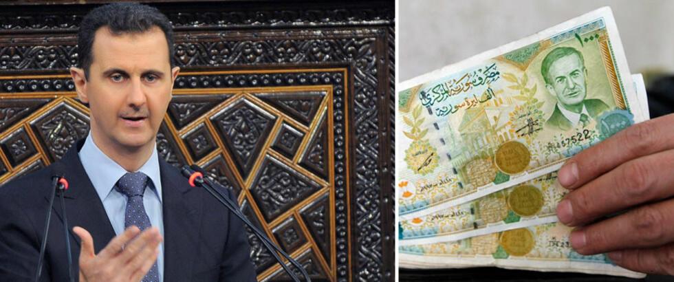 Nå rømmer de rike fra Assad - har sprøytet inn 1,8 milliarder til opposisjonen