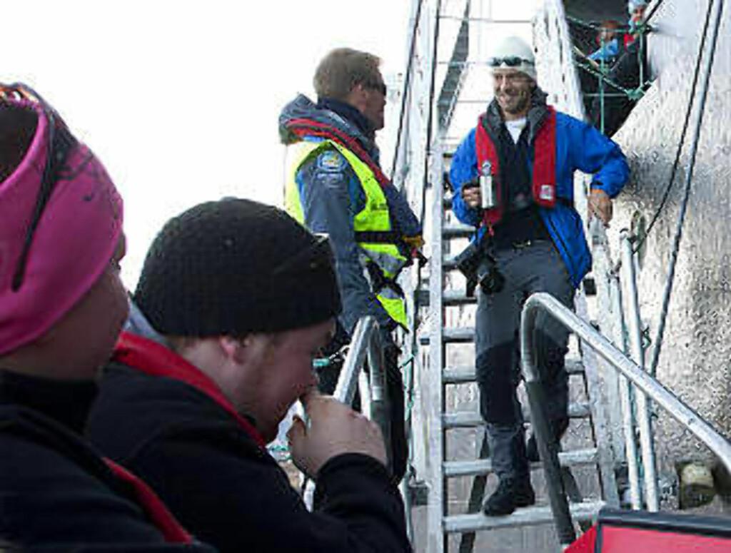 VETERAN: Thomas Hukkelås har vært med «Nordstjernen» sju ganger og håper på tur nummer åtte i sommer. Han har sett isbjørn hver eneste gang. Foto: STIG BRØNDBO