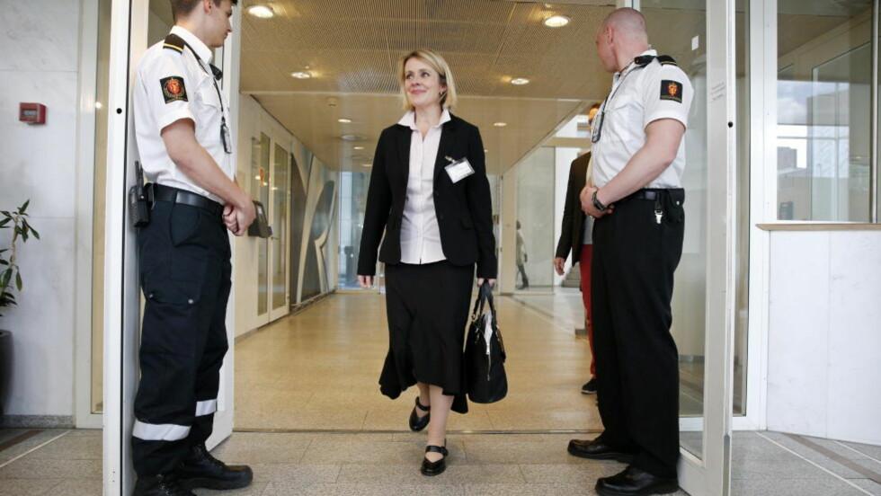 UTNEVNT I DAG: Politimesteren i Vestfold, Marie Benedicte Bjørnland, blir ny sjef for Politiets sikkerhetsstjeneste (PST). Foto: Håkon Mosvold Larsen / NTB scanpix