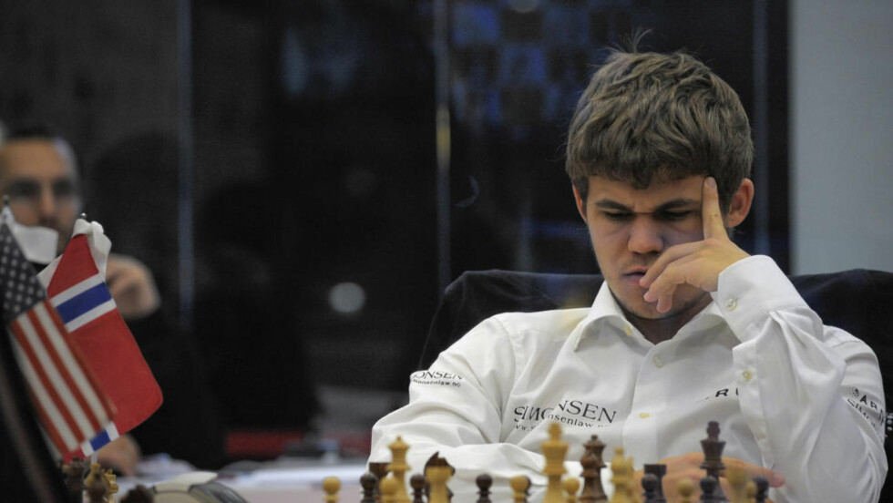 STORTURNERING: Magnus Carlsen starter i dag i storturneringen Tal Memorial i Moskva. Foto: AP Photo/Alvaro Barrientos