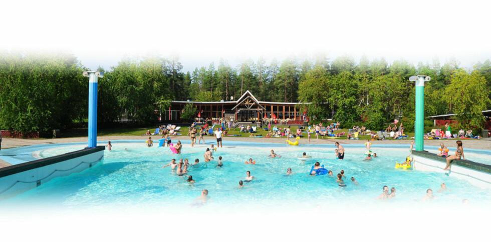 FIRST CAMP LULEÅ:  Her bor det 2000 nordmenn i døgnet om sommeren. Foto: FIRST CAMP LULEÅ.