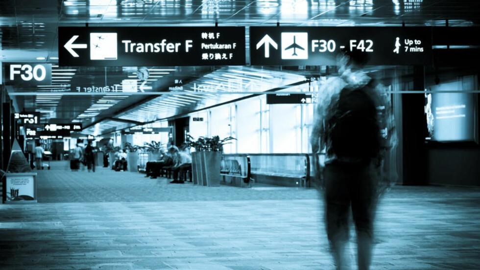 HELSEFARLIG: Bakteriene på flyplassen kan gjøre deg syk. Illustrasjonsfoto: COLOURBOX