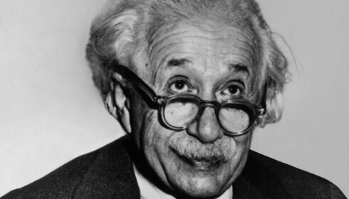 EINSTEIN: Fysiker og Nobelpris-vinner Albert Einstein var en skarping. Foto: NTB Scanpix