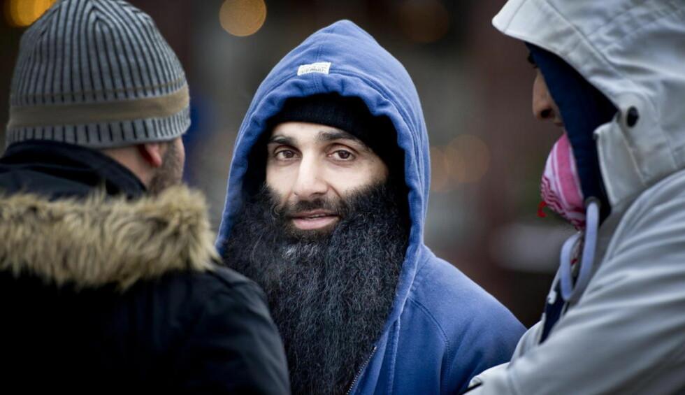 JOBBER FOR ET ISLAMSK NORGE:  Arfan Bhatti er overbevist om at hele jorda en gang vil bli styrt av Sharia. Foto: John T. Pedersen / Dagbladet