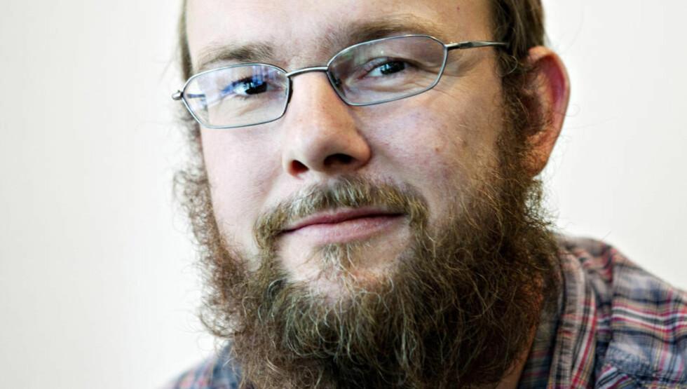 UBEHAGELIG: Anders Lundes første roman er like ubehagelig som hans kritikerroste novellesamling. Foto: NINA HANSSEN