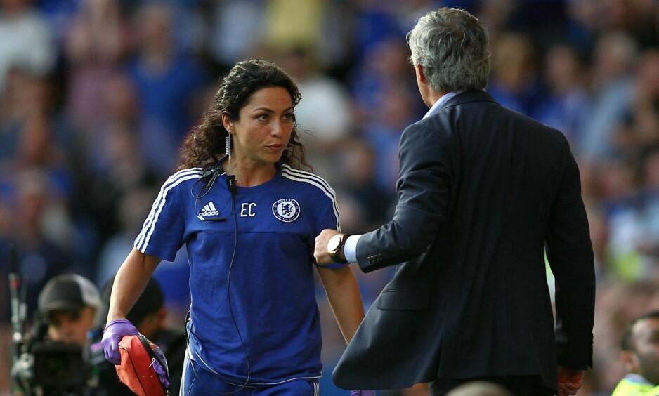REDDET FØR BRÅKET: Den tidligere Chelsea-legen Eva Carneiro havnet i bråk med klubbens tidligere manager Jose Mourinho. I ei ny bok kommer det fram at Carneiro hjalp Mourinho etter en kollaps to år tidligere. Foto: Michael Zemanek/BPI/REX/Shutterstock (4931278ae)