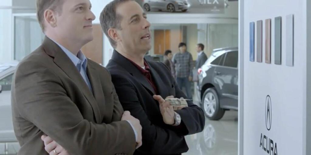 FØRST UTE: Det er status å være den første som får en ny superbil. Jerry Seinfeld vil gjerne ha den første NSX'en, og gjør alt for å klare det. FOTO Honda