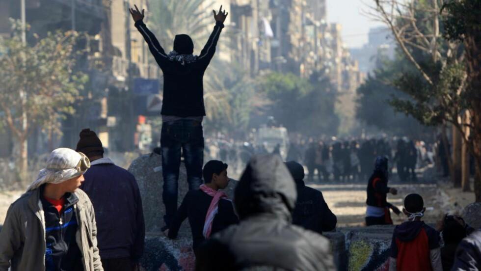 ANKLAGET FOR FINANSIERING: De 44 utlendingene er anklaget for å ha finansiert opprør i Egypt. Foto: SCANPIX/AFP PHOTO/MAHMUD HAMS