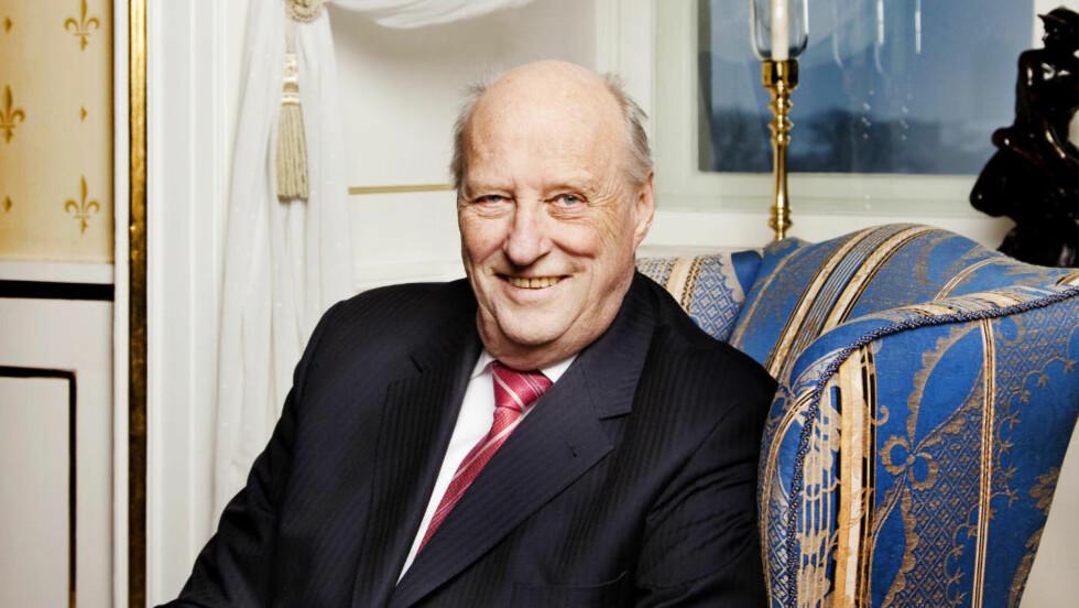 HELT KONGE: Kong Harald fyller 75 år tirsdag 21. februar. I den anledning har han gitt Magasinet et eksklusivt intervju. Foto: Agnete Brun / Dagbladet