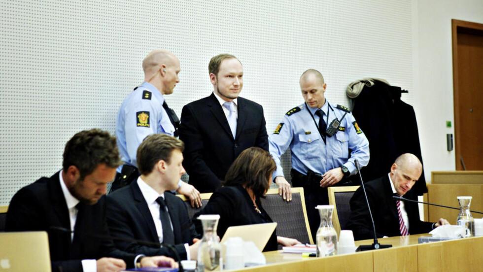 Breivik nektes tilgang til sin egen rømningsplan