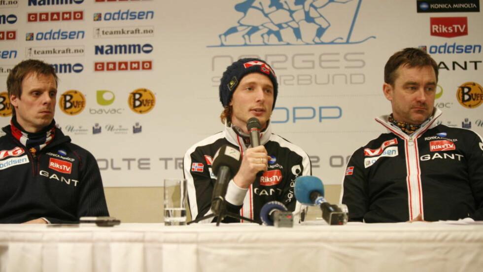 LEGGER OPP UMIDDELBART: Johan Remen Evensen ville ikk ta VM-plassen til noen som fortjente den mer. Johan Remen Evensen Foto: Anette Karlsen / Scanpix
