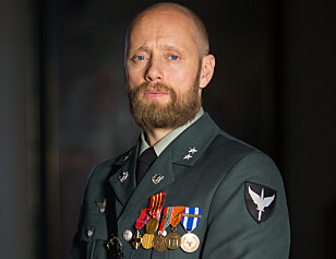IKKE SIKKERHETSKLARERT: Aksel Hennie fikk ikke lov til å dra i militæret. Foto: Eirik Evjen / Monster Scripted