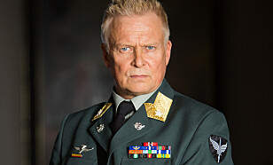 I GARDEN: Dennis Storhøi er den eneste av de sentrale FSK-soldatene i «Nobel» som har vært gjennom militæret i virkeligheten. Foto: Eirik Evjen / Monster Scripted