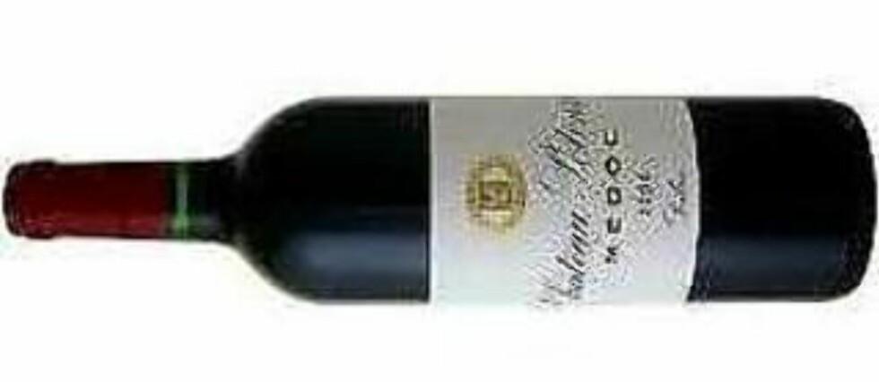 UKAS VIN:  Château Potensac 2008 er en knallvin fra Medoc. Får 87 poeng og terningkast seks.