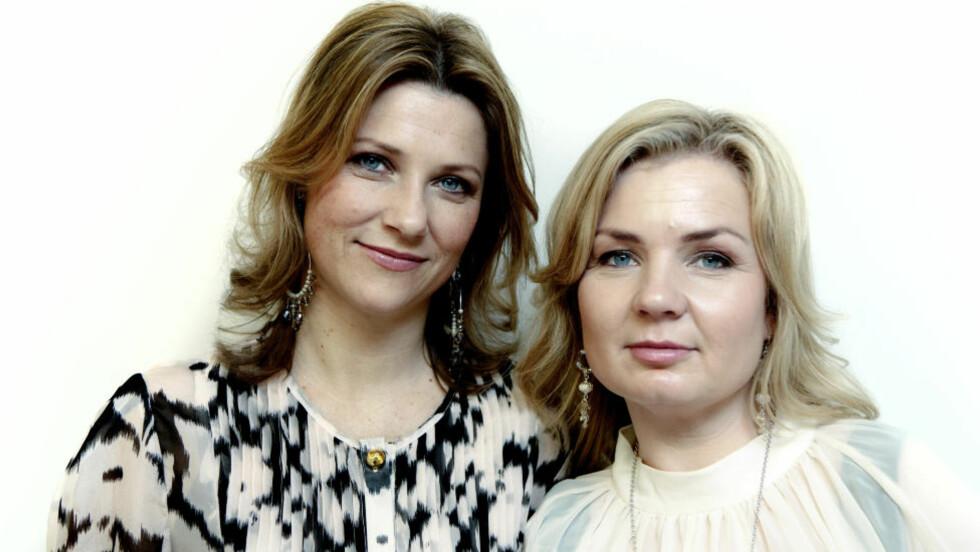 ENGLEDUO: Prinsesse Märtha Louise og Elisabeth Nordeng har nylig gitt ut sin andre bok sammen.  Foto: Lars Eivind Bones / Dagbladet